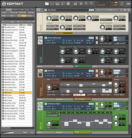 Native Instruments Kontakt 3 (Kontakt 3)